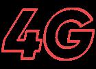 Internet móvel com conexão 4G